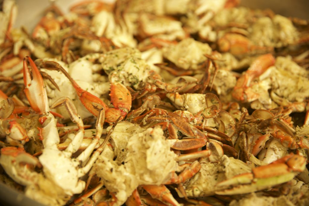 Crab Sampler