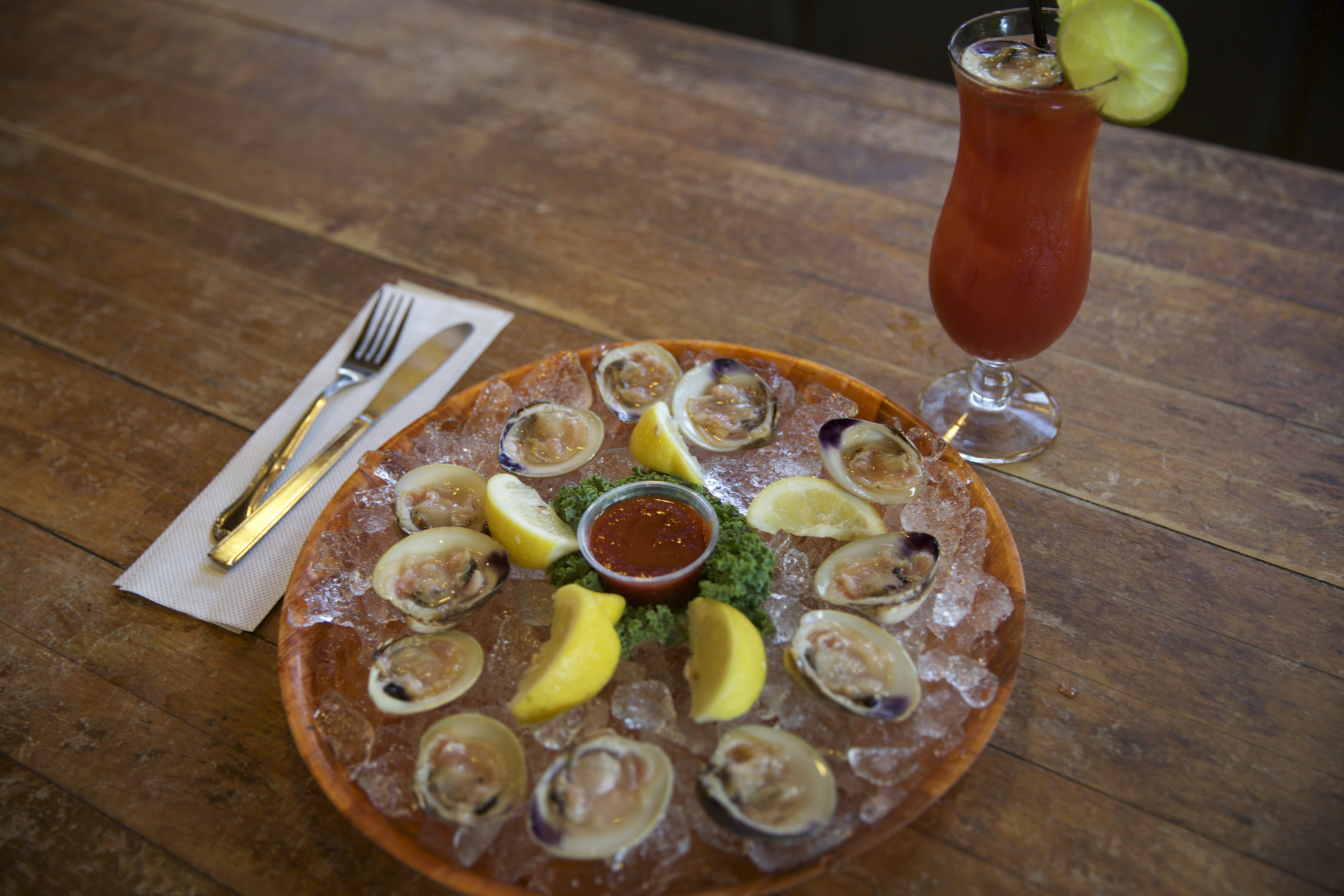 Oyster Plater